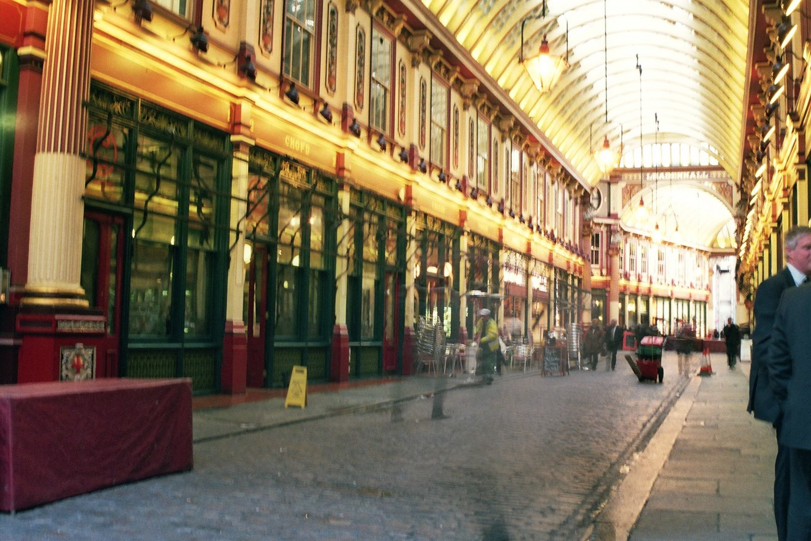 The Leadenhall Market in Central London